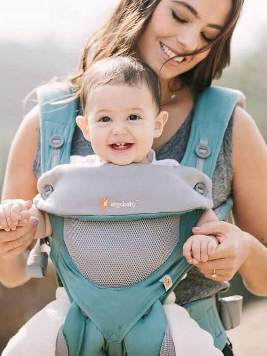 Nosiljka Ergobaby 360 Performance Cool Air Mesh Icy Mint