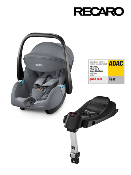 RECARO Guardia Aluminium Grey