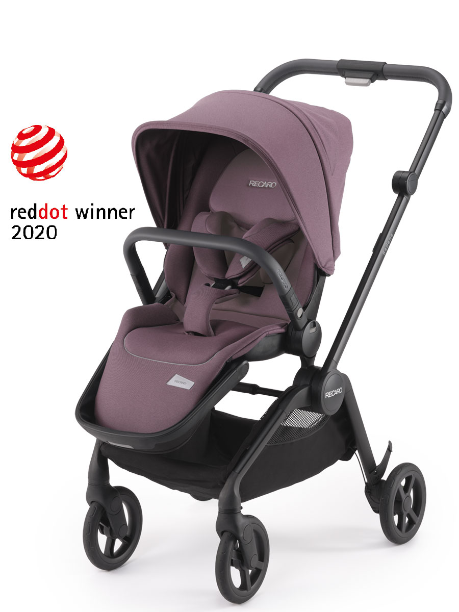 djecja kolica recaro sadena pale rose red dot award